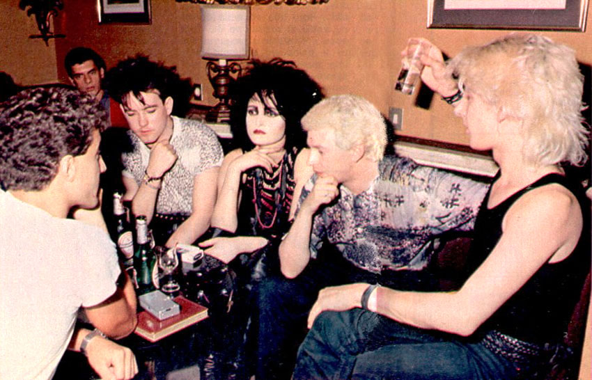 Siouxsie Sioux And Robert Smith Robert Smith s Siouxsie